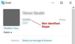 Trouver mon identifiant Skype