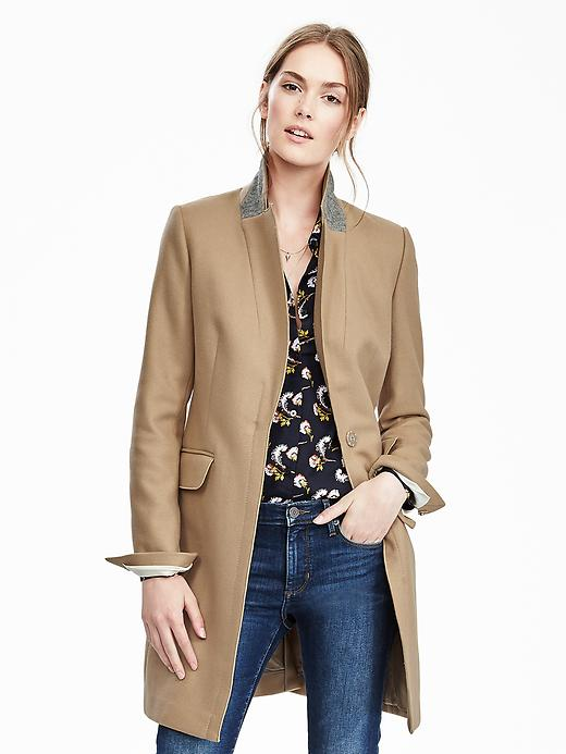 Manteau de laine Banana Republic 370$ maintenant 222$